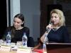 Спикеры круглого стола:Валерия Семенова (БЦ Ново-Исакiевскiй) и Нелли Алейникова (управляющая компания Maris)
