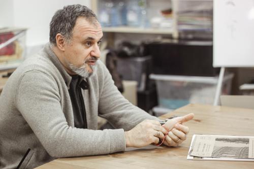 Максим Атаянц, российский архитектор и художник.