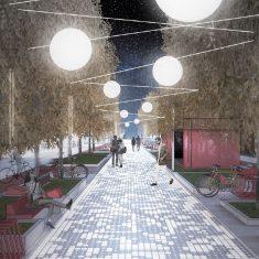 Улица Сперанского с «усиленной зеленой программой»