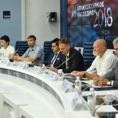 """Пресс-конференция, посвященная проведению Всероссийского фестиваля с международным участием """"Архитектурное наследие"""""""