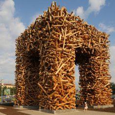 «Пермские ворота».  Пермь, 2011