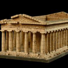 Модель храма Аполлона (Нептуна) в Пестуме
