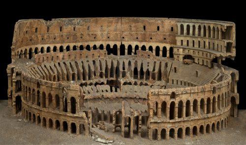 Модель руин Колизея в Риме Atayanz-4 Chichi