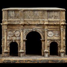 Модель триумфальной арки Константина в Риме