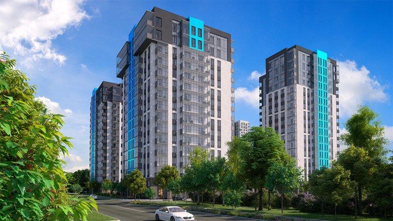 ЖК «Одинград»/Tikkanen Architects