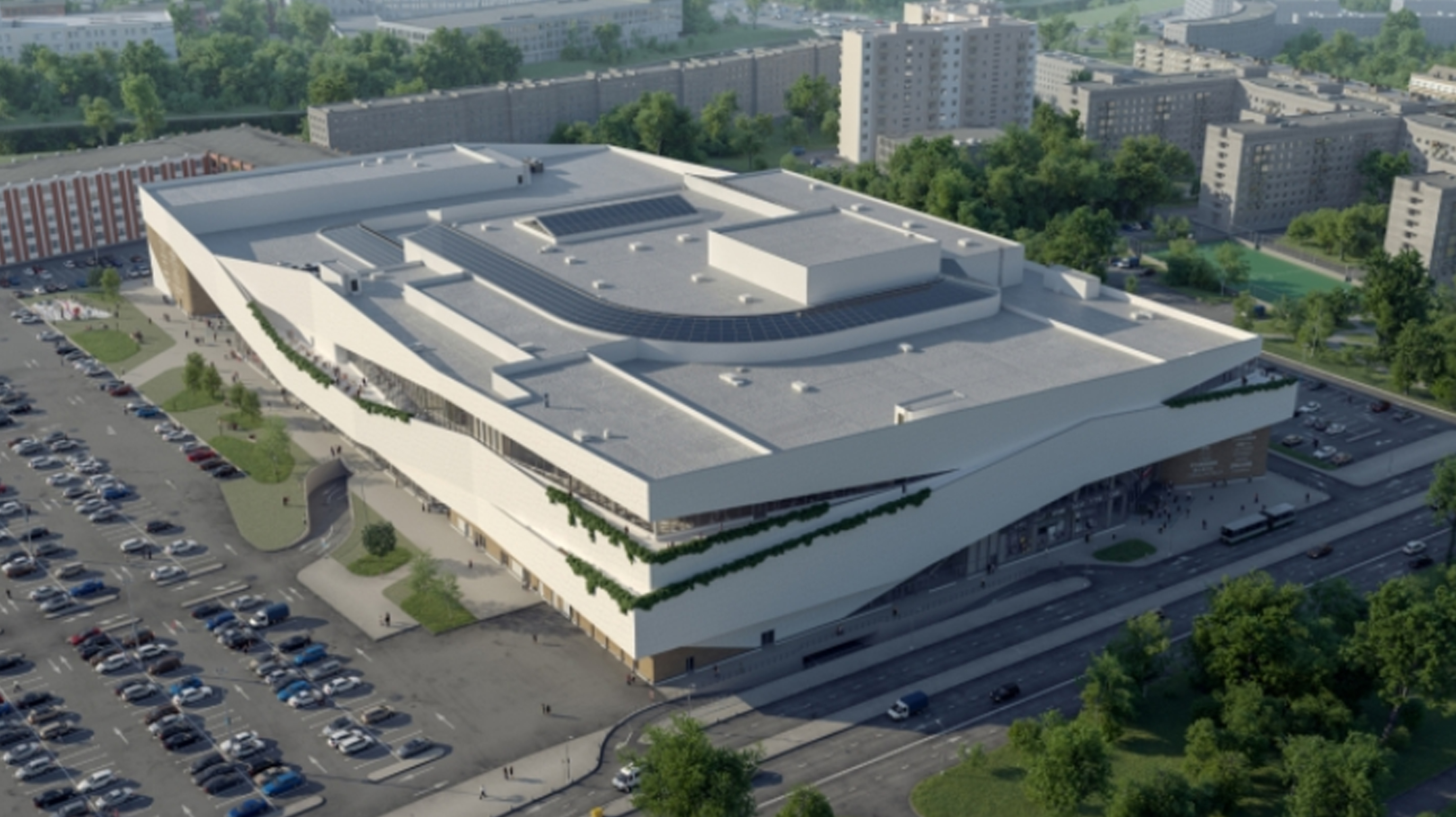 Торговый центр «Охта Молл»/L Architects