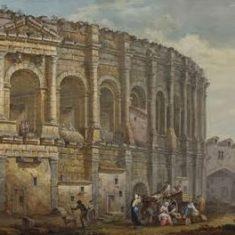Руины амфитеатра в Риме. 1784 г. Шарль-Луи Клериссо