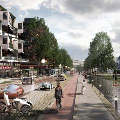 Концепция трансформации национальной магистрали №3 (главной дороги, ведущей в Хельсинки с севера) в городской базар.