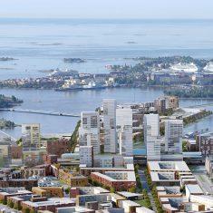 Helin & Co. Проект мультифункционального квартала Каласатама. Хельсинки, 2013